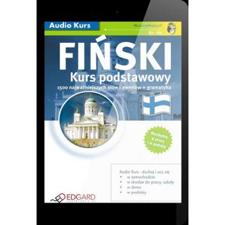 Fiński Kurs podstawowy (E-book + nagrania mp3)