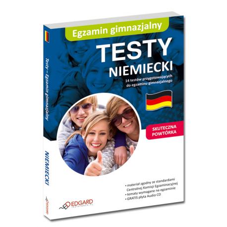 Niemiecki Egzamin gimnazjalny - Testy (Książka + Audio CD)